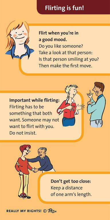 flirten englisch