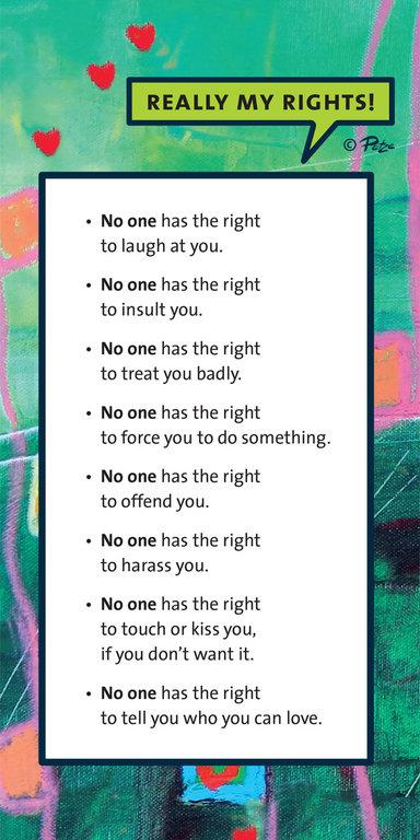 Rechte Englisch